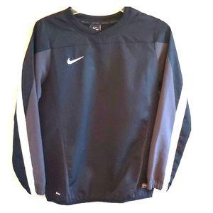 Black Nike Golf Dri-fit Windbreaker Boys L
